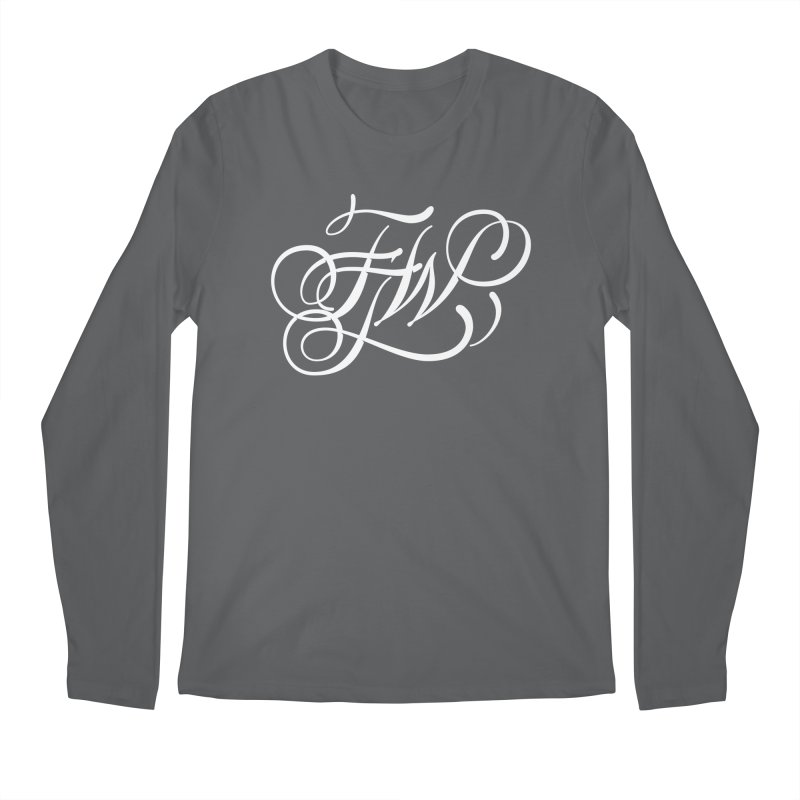 FTW Monogram Men's Longsleeve T-Shirt by kreasimalam's Artist Shop