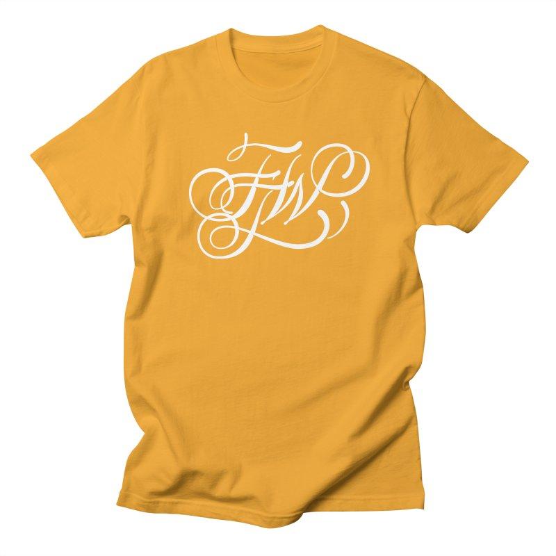FTW Monogram Men's T-Shirt by kreasimalam's Artist Shop