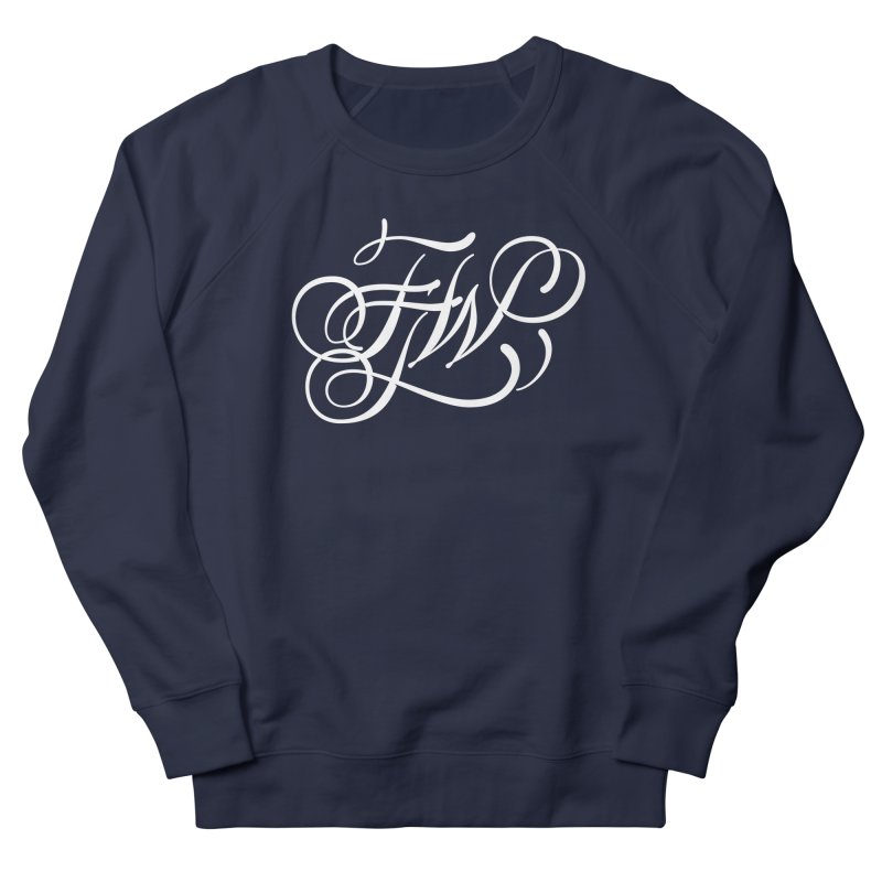 FTW Monogram Women's French Terry Sweatshirt by kreasimalam's Artist Shop