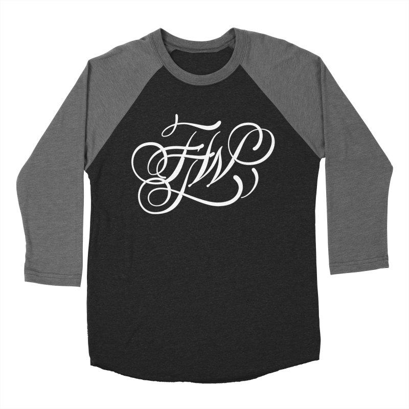 FTW Monogram Men's Baseball Triblend Longsleeve T-Shirt by kreasimalam's Artist Shop