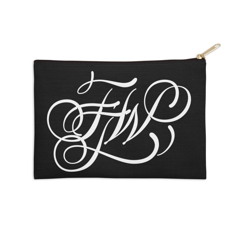 FTW Monogram Accessories Zip Pouch by kreasimalam's Artist Shop