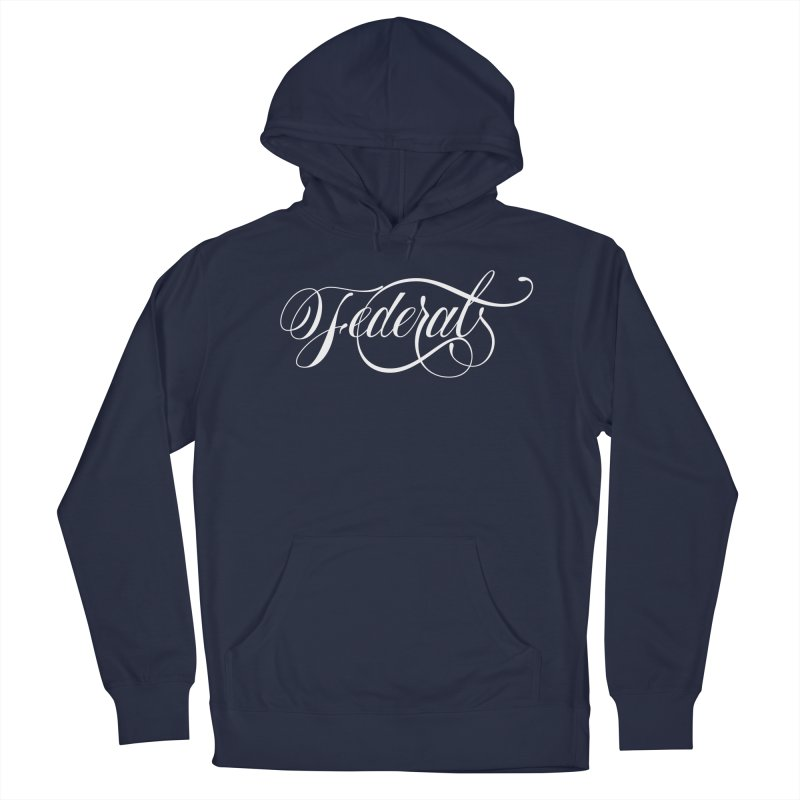 Federal Men's French Terry Pullover Hoody by kreasimalam's Artist Shop