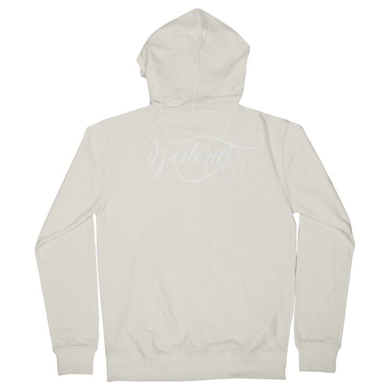 Federal Women's French Terry Zip-Up Hoody by kreasimalam's Artist Shop
