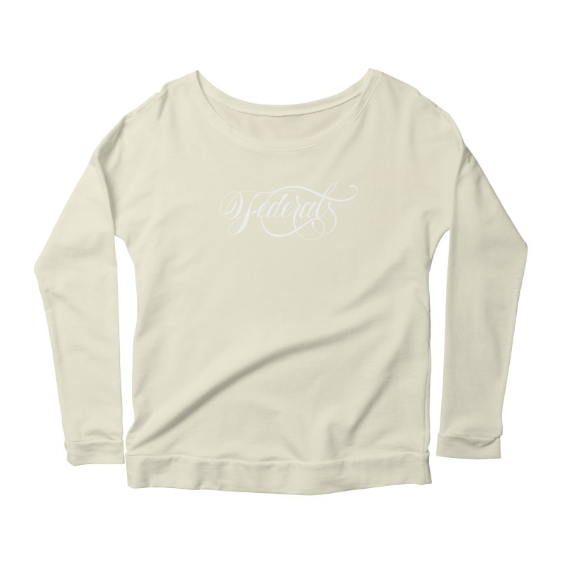 Federal Women's Longsleeve Scoopneck  by kreasimalam's Artist Shop