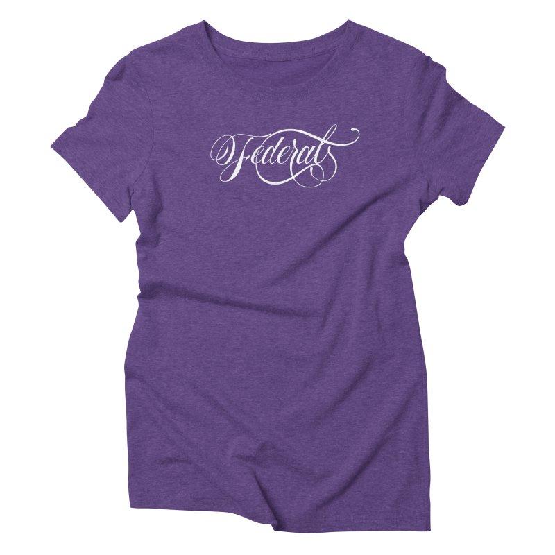 Federal Women's Triblend T-Shirt by kreasimalam's Artist Shop