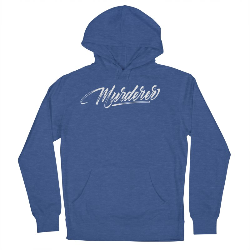Murderer Women's French Terry Pullover Hoody by kreasimalam's Artist Shop