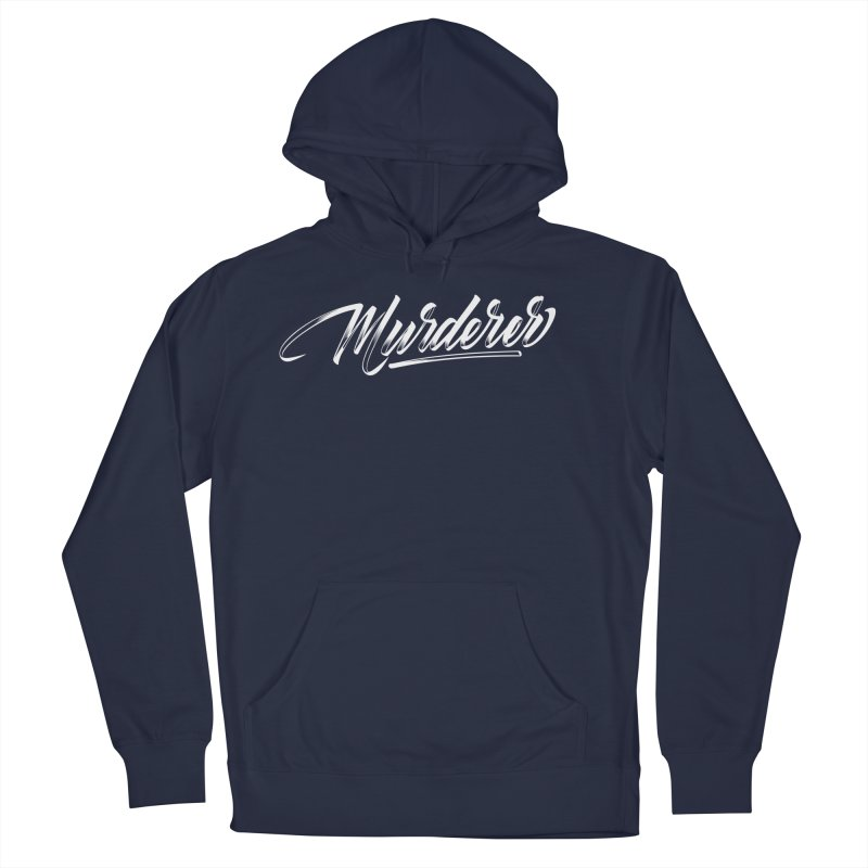 Murderer Men's French Terry Pullover Hoody by kreasimalam's Artist Shop
