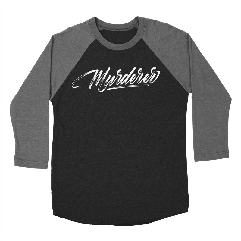 Murderer Men's Baseball Triblend Longsleeve T-Shirt by kreasimalam's Artist Shop
