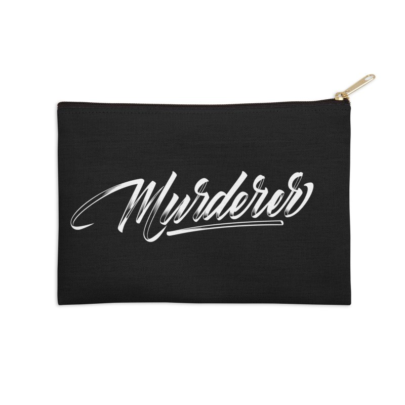 Murderer Accessories Zip Pouch by kreasimalam's Artist Shop