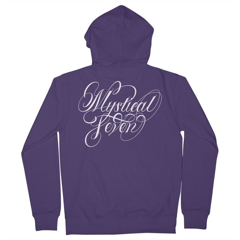 Mystical Seven Women's French Terry Zip-Up Hoody by kreasimalam's Artist Shop