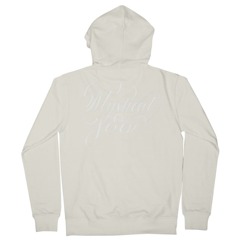Mystical Seven Men's French Terry Zip-Up Hoody by kreasimalam's Artist Shop