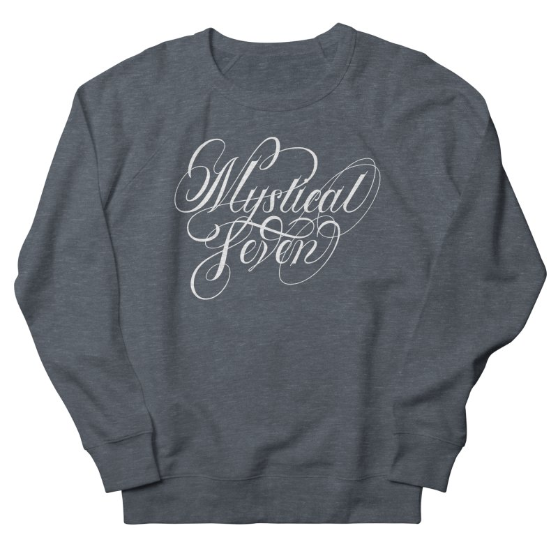 Mystical Seven Men's French Terry Sweatshirt by kreasimalam's Artist Shop