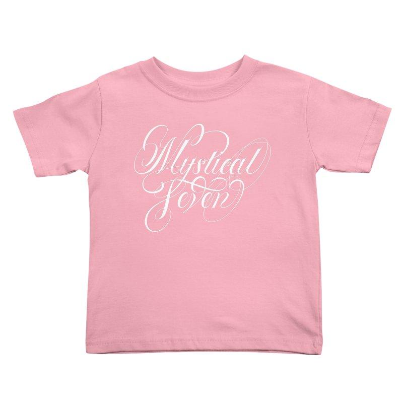 Mystical Seven Kids Toddler T-Shirt by kreasimalam's Artist Shop