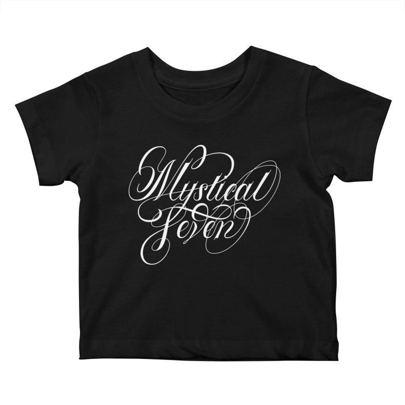 Mystical Seven Kids Baby T-Shirt by kreasimalam's Artist Shop