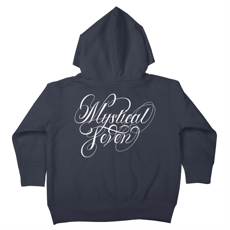 Mystical Seven Kids Toddler Zip-Up Hoody by kreasimalam's Artist Shop
