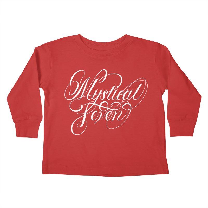 Mystical Seven Kids Toddler Longsleeve T-Shirt by kreasimalam's Artist Shop