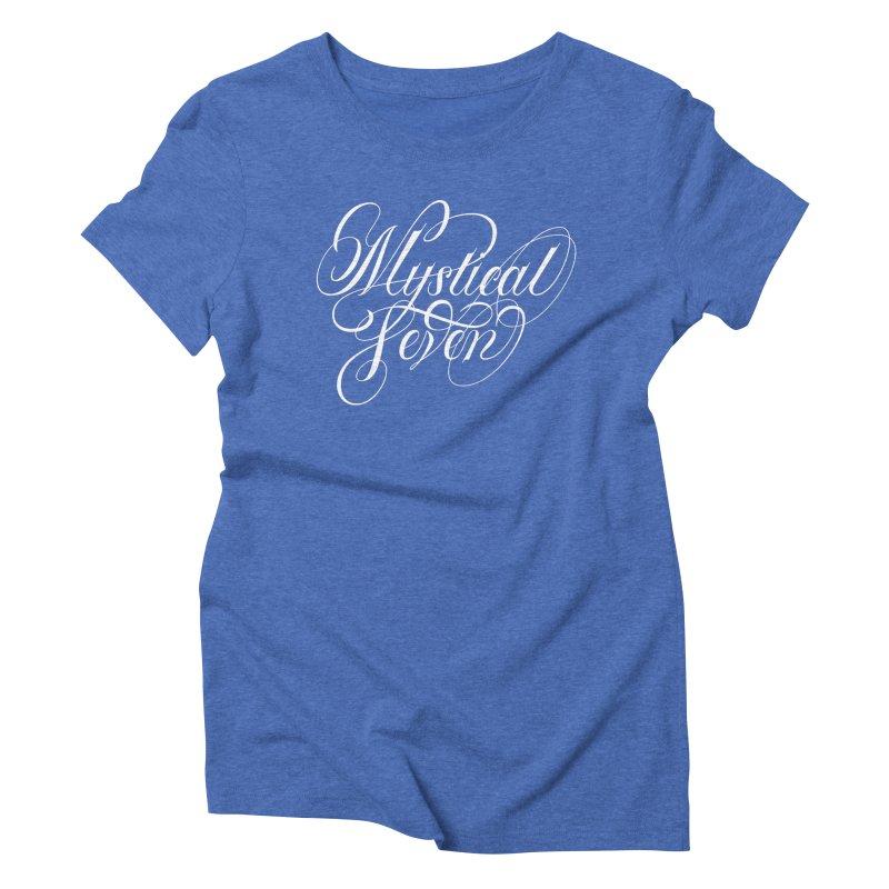 Mystical Seven Women's Triblend T-Shirt by kreasimalam's Artist Shop