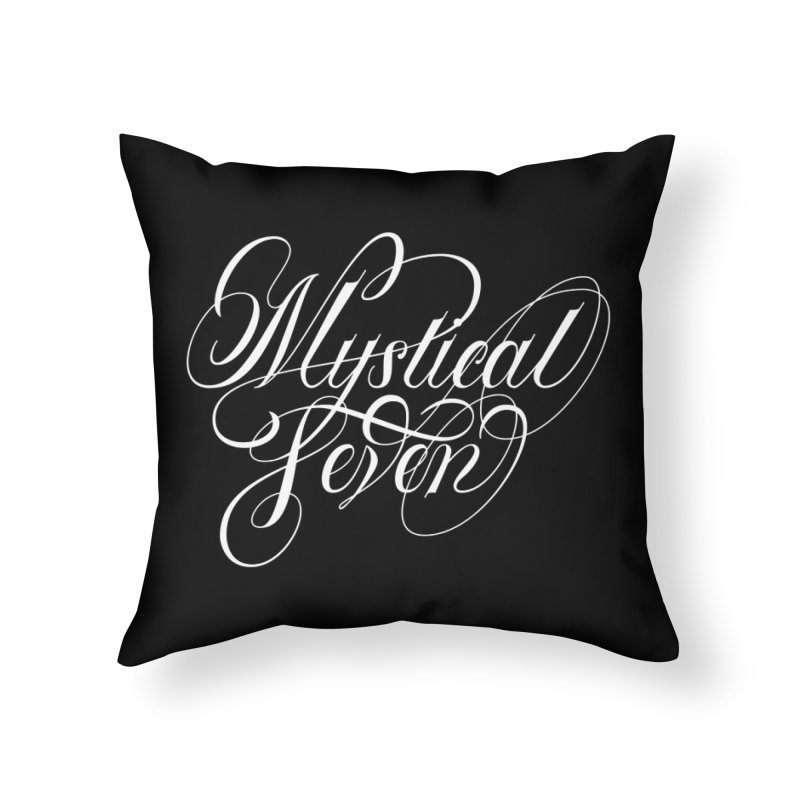 Mystical Seven Home Throw Pillow by kreasimalam's Artist Shop