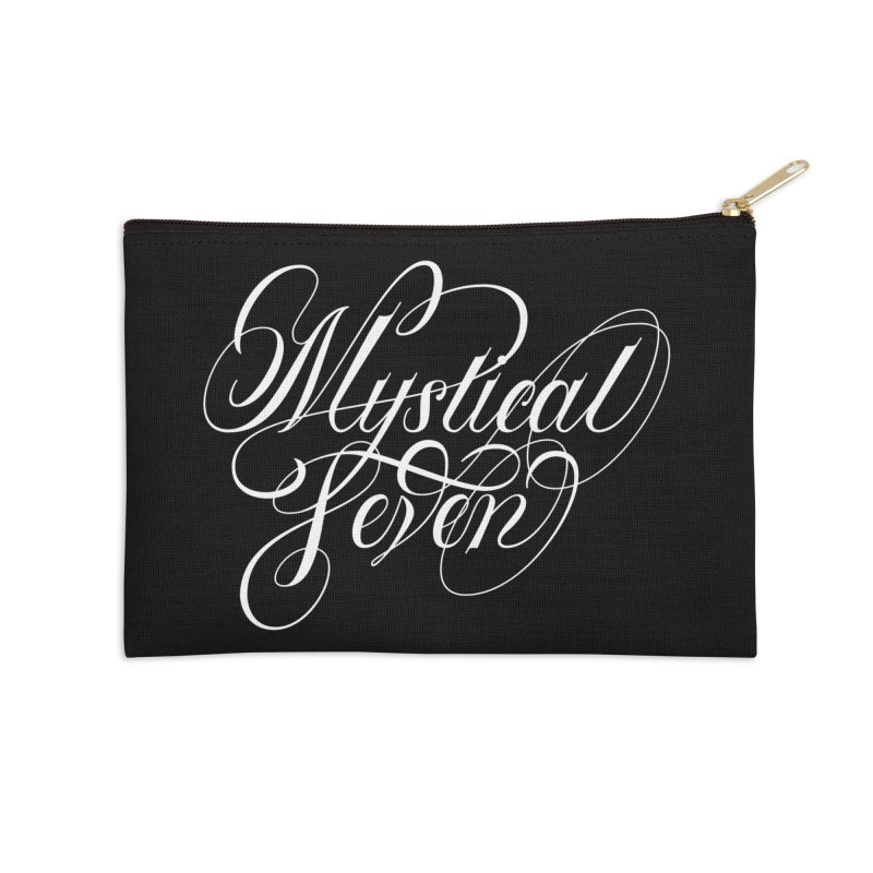Mystical Seven Accessories Zip Pouch by kreasimalam's Artist Shop