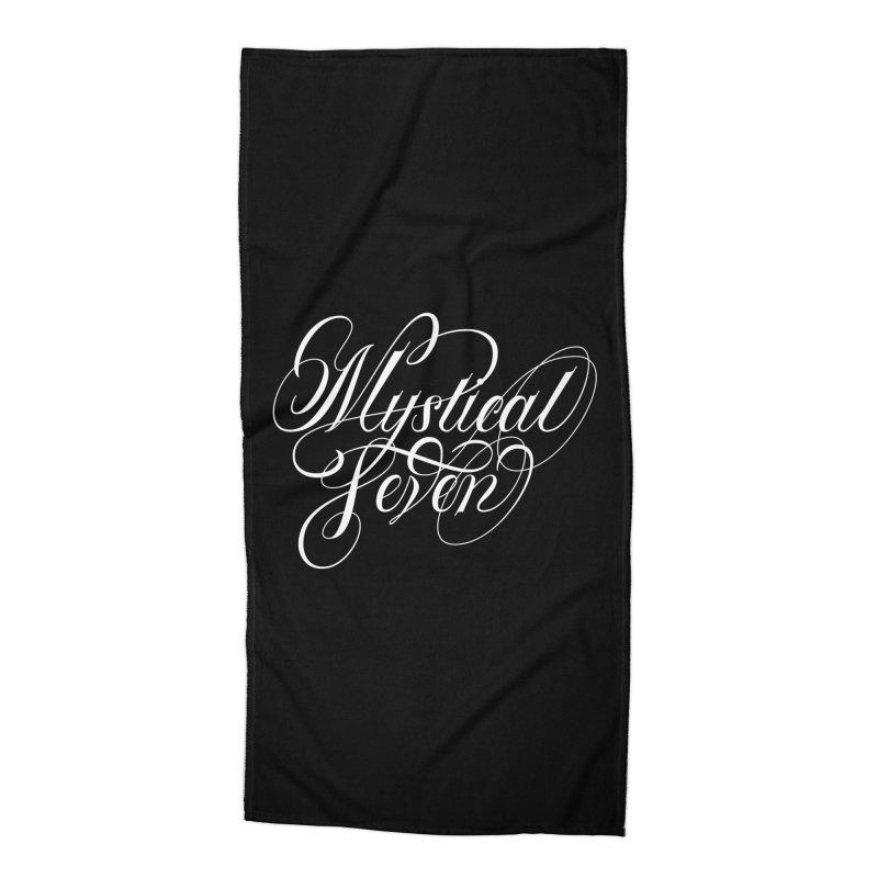Mystical Seven Accessories Beach Towel by kreasimalam's Artist Shop