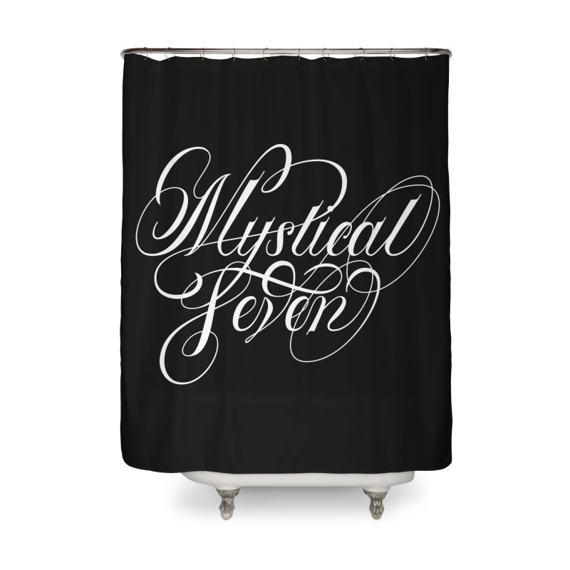 Mystical Seven Home Shower Curtain by kreasimalam's Artist Shop