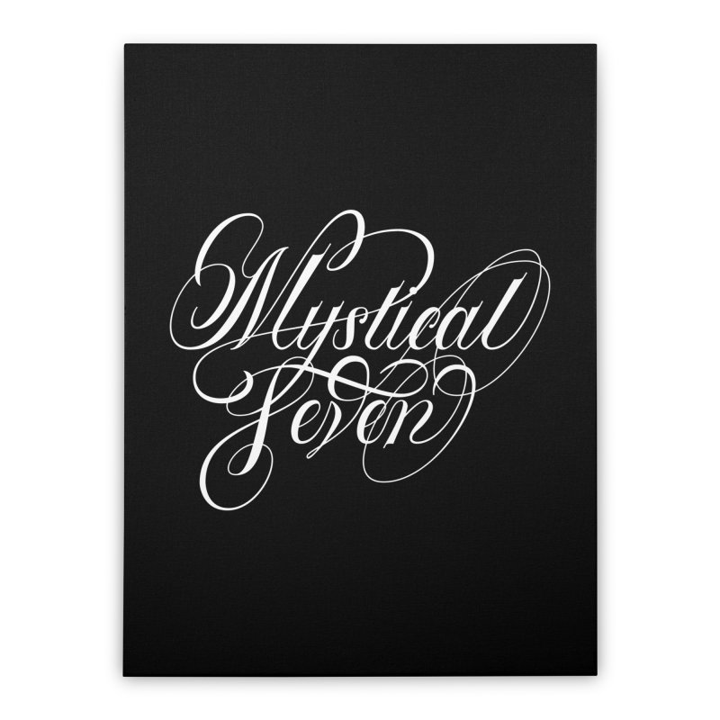 Mystical Seven Home Stretched Canvas by kreasimalam's Artist Shop