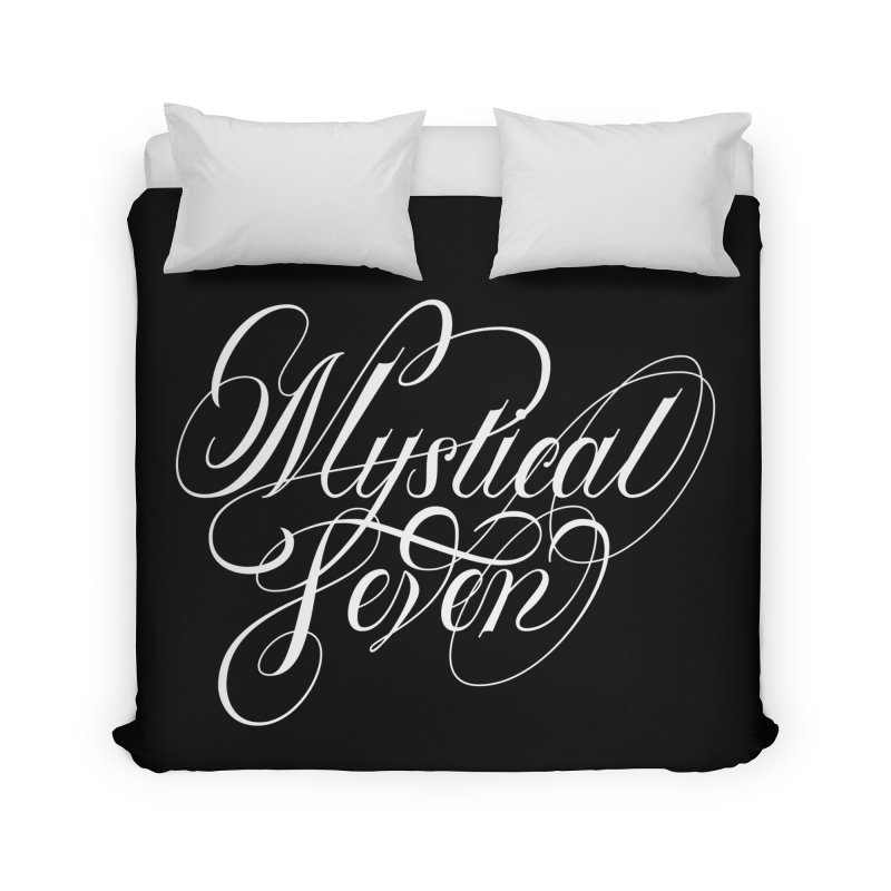 Mystical Seven Home Duvet by kreasimalam's Artist Shop