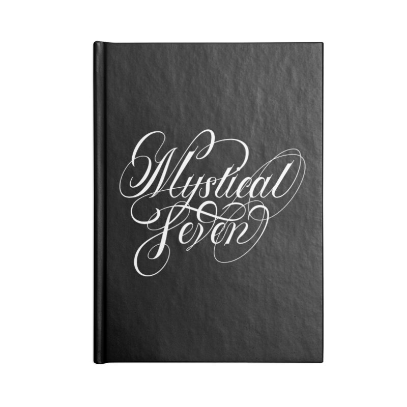Mystical Seven Accessories Blank Journal Notebook by kreasimalam's Artist Shop