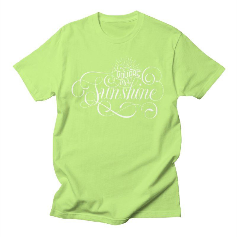 You Are My Sunshine Men's T-Shirt by kreasimalam's Artist Shop