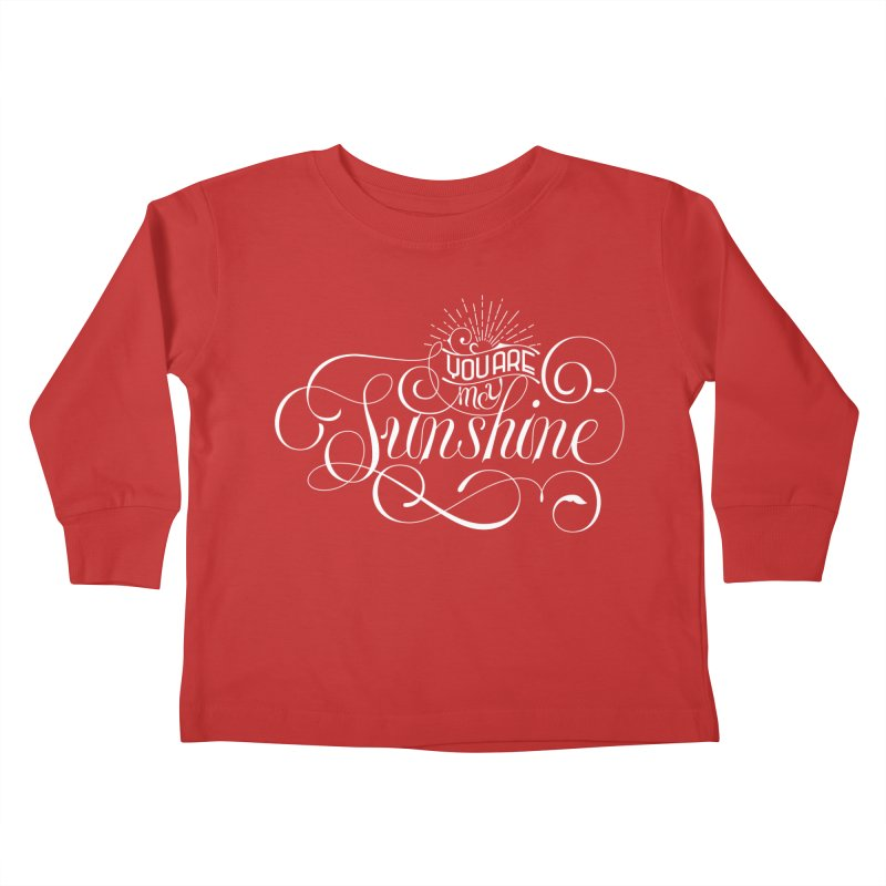 You Are My Sunshine Kids Toddler Longsleeve T-Shirt by kreasimalam's Artist Shop