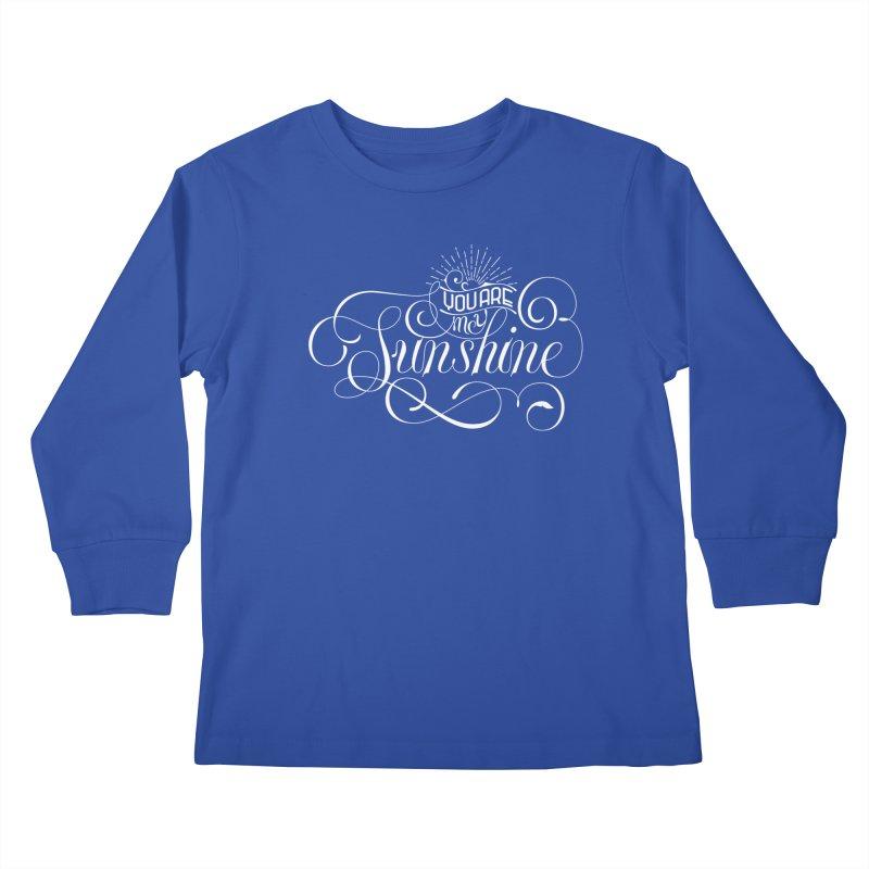 You Are My Sunshine Kids Longsleeve T-Shirt by kreasimalam's Artist Shop