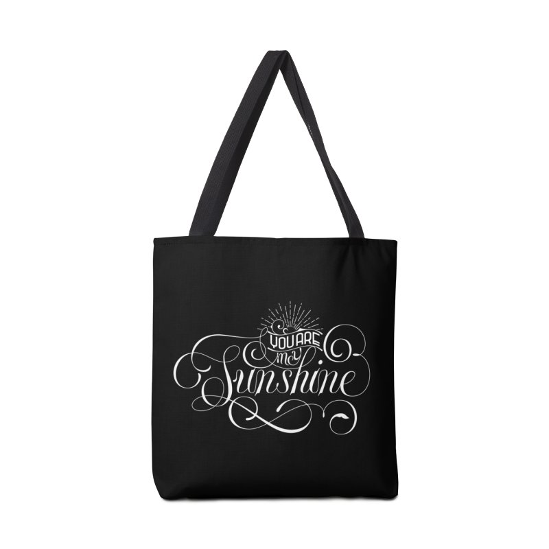 You Are My Sunshine Accessories Bag by kreasimalam's Artist Shop