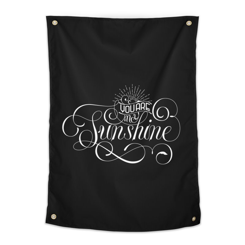 You Are My Sunshine Home Tapestry by kreasimalam's Artist Shop