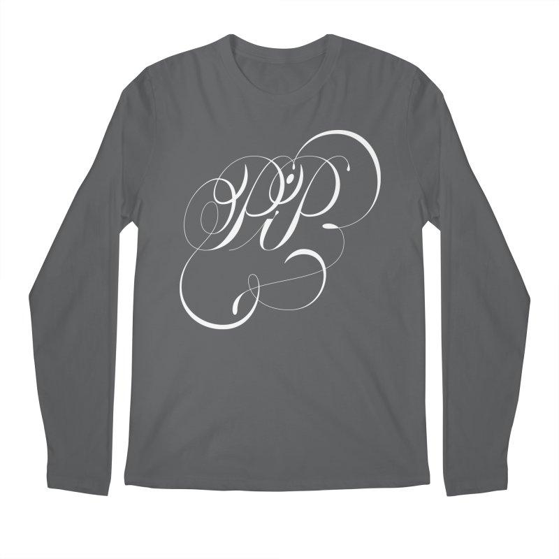 Poop In Peace Monogram Men's Longsleeve T-Shirt by kreasimalam's Artist Shop