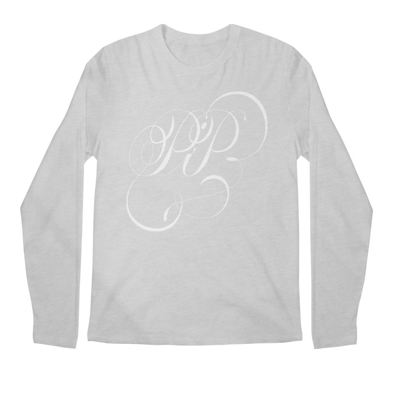 Poop In Peace Monogram Men's Longsleeve T-Shirt by kreasimalam's Artist Shop