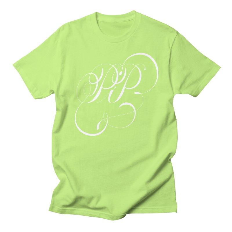 Poop In Peace Monogram Men's Regular T-Shirt by kreasimalam's Artist Shop