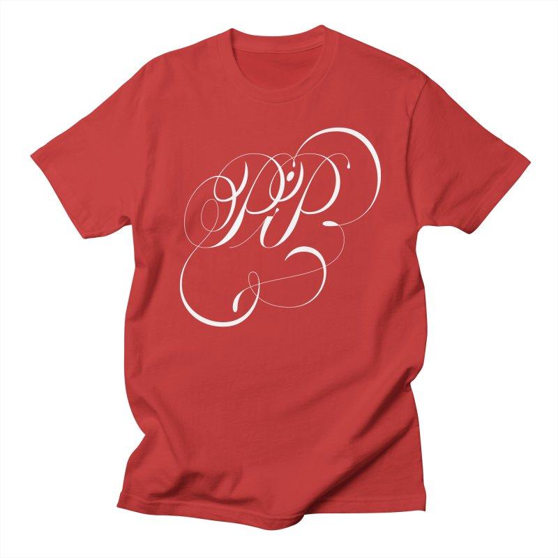 Poop In Peace Monogram Men's T-Shirt by kreasimalam's Artist Shop