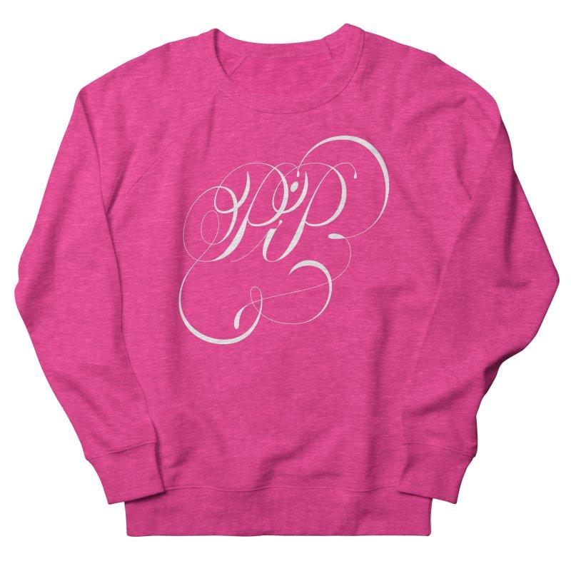 Poop In Peace Monogram Women's French Terry Sweatshirt by kreasimalam's Artist Shop