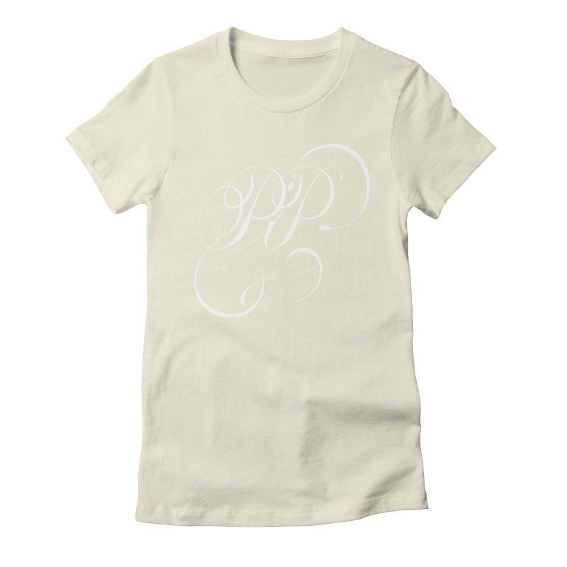 Poop In Peace Monogram Women's T-Shirt by kreasimalam's Artist Shop