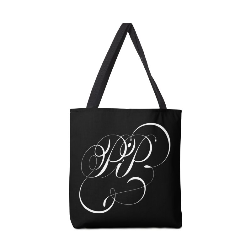 Poop In Peace Monogram Accessories Tote Bag Bag by kreasimalam's Artist Shop