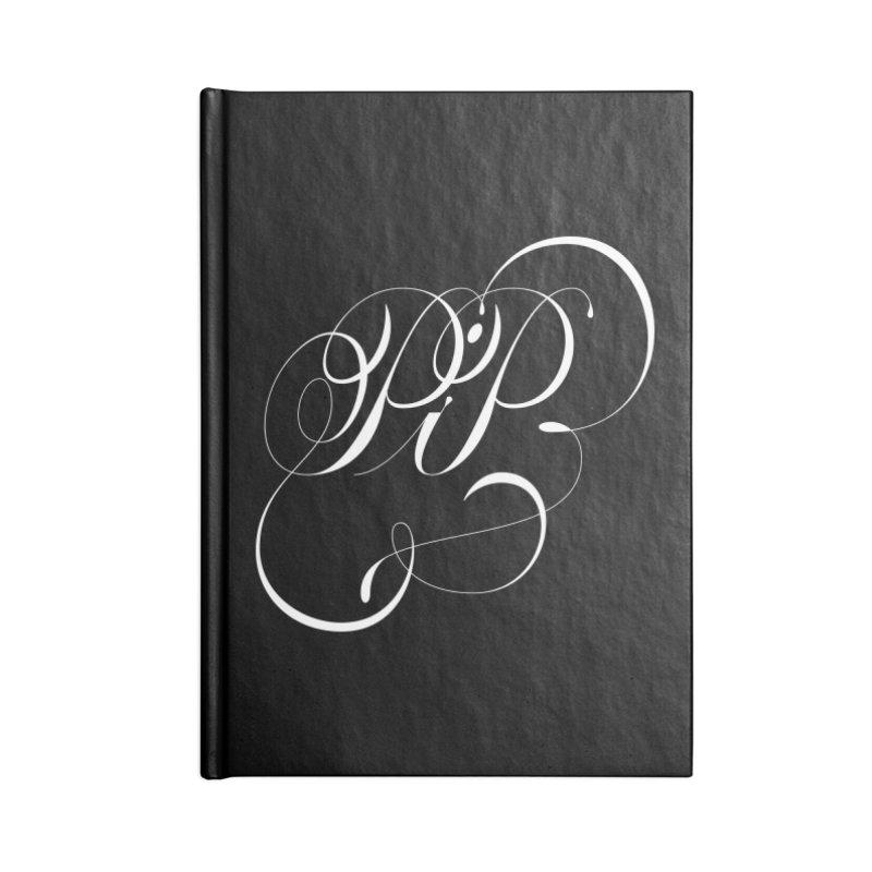 Poop In Peace Monogram Accessories Notebook by kreasimalam's Artist Shop