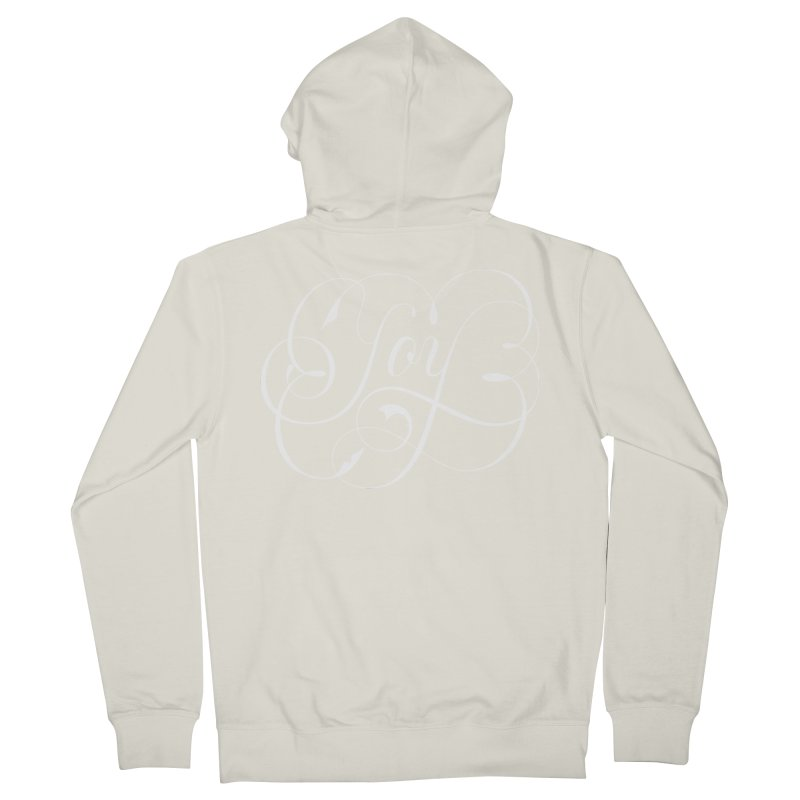 Joy Men's Zip-Up Hoody by kreasimalam's Artist Shop