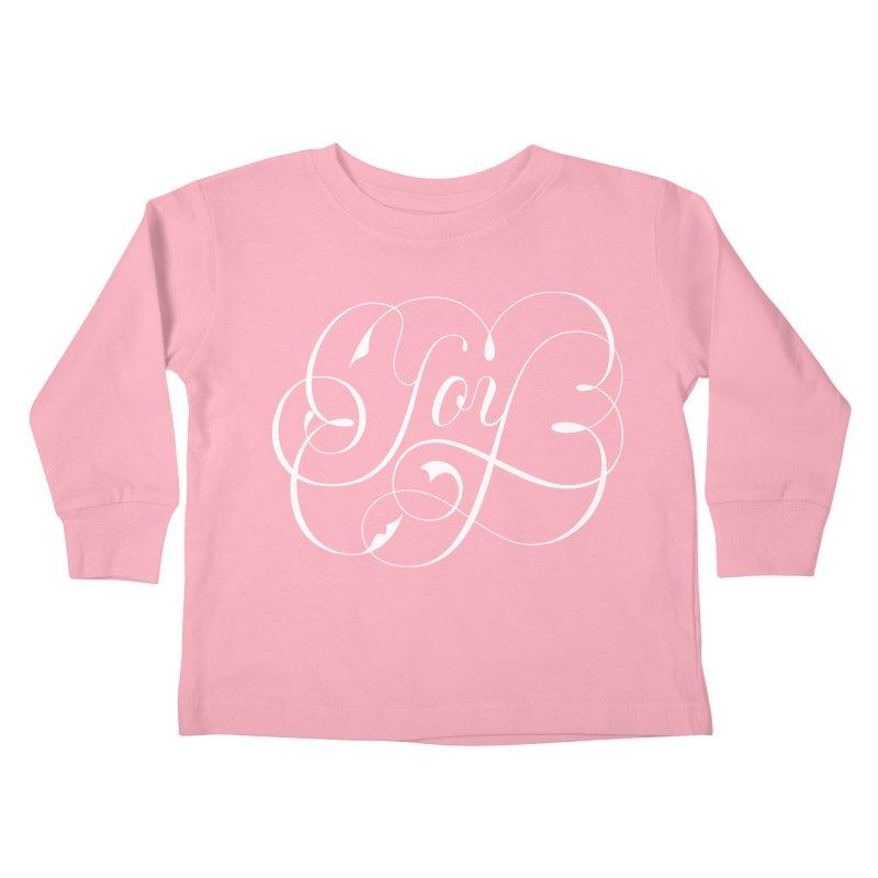 Joy Kids Toddler Longsleeve T-Shirt by kreasimalam's Artist Shop