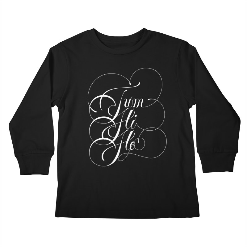 Tum Hi Ho Kids Longsleeve T-Shirt by kreasimalam's Artist Shop