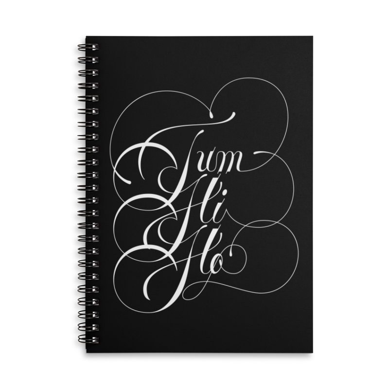 Tum Hi Ho Accessories Lined Spiral Notebook by kreasimalam's Artist Shop