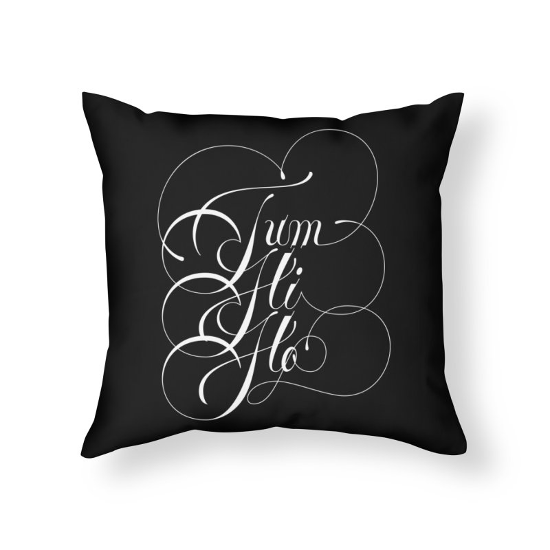 Tum Hi Ho Home Throw Pillow by kreasimalam's Artist Shop