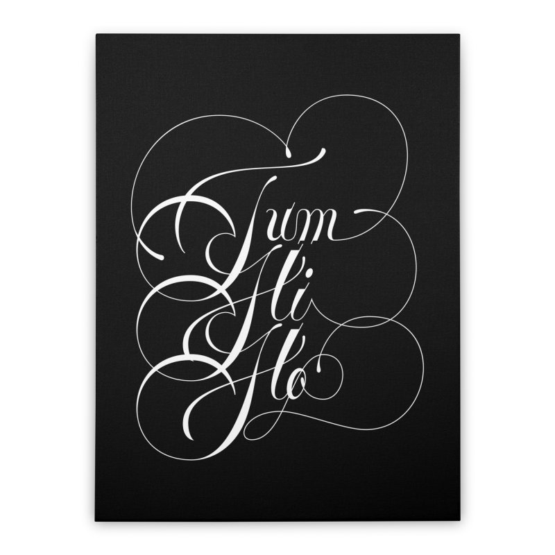 Tum Hi Ho Home Stretched Canvas by kreasimalam's Artist Shop