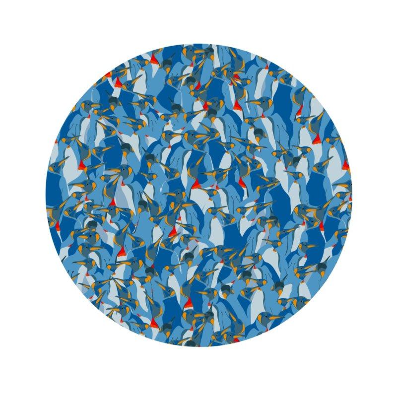 Blue penguins Accessories Face Mask by Kreativkollektiv designs