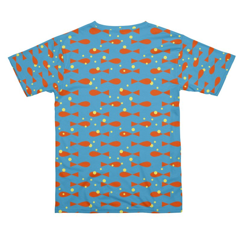 Orange fishes Men's Cut & Sew by Kreativkollektiv Friedlos und Streitsüchtig