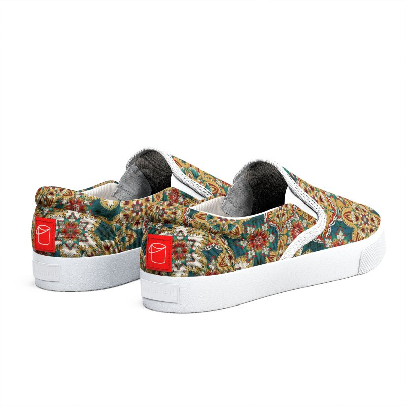 Wooden flowers Women's Shoes by Kreativkollektiv Friedlos und Streitsüchtig